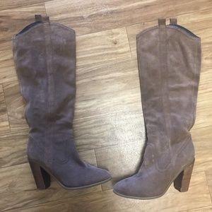 Kenneth Cole Tan Brown 8M Boots w/ Heel